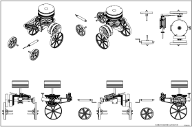 Solidworks modelling and animation of vintage machines