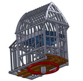 Full 3d CAD of complex structures